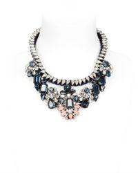 Shourouk - Blue Gilda Necklace - Lyst