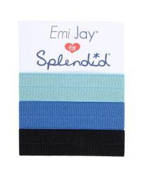 Splendid - Blue Emi-jay Hair Ties - Lyst