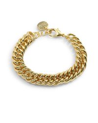1AR By Unoaerre | Metallic Fishtail Grommet Link Bracelet | Lyst