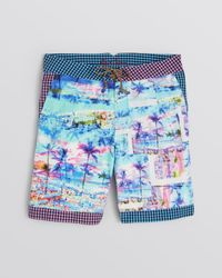 Robert Graham - Multicolor Geryon Tree Print Swim Shorts for Men - Lyst