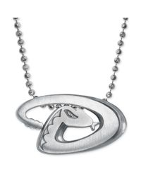 Alex Woo | Metallic Mlb Collection By Sterling Silver Arizona Diamondbacks Pendant Necklace | Lyst