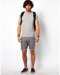 ASOS | Gray T-shirt With Pocket for Men | Lyst
