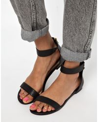 ASOS - Metallic Limited Edition Two Pack Toe Rings - Lyst