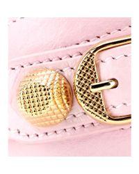 Balenciaga - Pink Giant Leather Bracelet - Lyst
