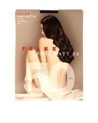 Falke | Black Semi Opaque Pure Matt 50 Denier Tights | Lyst