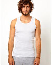 G-Star RAW | White G Star Two Pack Vest for Men | Lyst