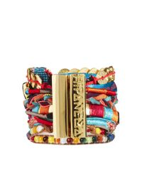 Hipanema - Metallic Aztec Bracelet - Lyst