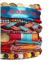 Hipanema | Metallic Aztec Bracelet | Lyst