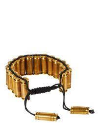 Love Bullets | Metallic Bullet Bracelet for Men | Lyst