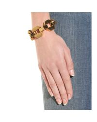Marc By Marc Jacobs - Metallic Metal Bolt Link Chain Bracelet - Lyst