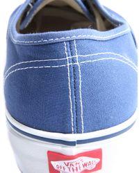 Vans | Blue Authentic Plimsolls for Men | Lyst