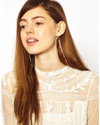 ASOS - Multicolor Limited Edition Mini Tassel Earrings - Lyst