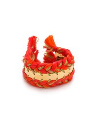 Aurelie Bidermann - Orange Copacabana Bracelet - Geranium - Lyst