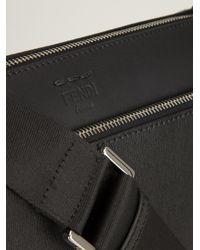 Fendi - Black Classic Messenger Bag for Men - Lyst