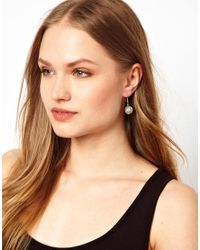 Kenneth Jay Lane | Metallic Disco Ball Earrings | Lyst