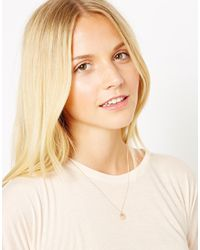 Laura Lee - Pink Exclusive For Asos Reversible Face Anchor Necklace - Lyst