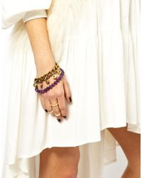Love Bullets - Purple Lovebullets Bullet End Bracelet - Lyst