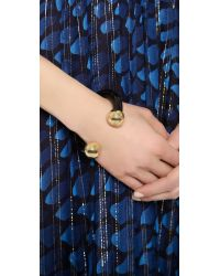Marc By Marc Jacobs - Black Gia Cuff Bracelet - Lyst