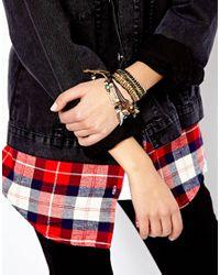 Pull&Bear - Multicolor Beaded Bracelet Multipack - Lyst