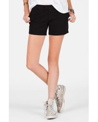 Volcom - Black 'frochickie' Chino Shorts - Lyst
