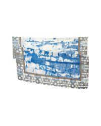 Michael Stars - Blue Urban Canvas Scarf - Lyst