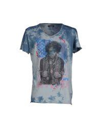 GAUDI | Blue T-shirt for Men | Lyst