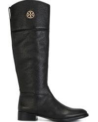 Tory Burch - Black Knee High Boots - Lyst