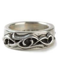 Chrome Hearts - Metallic Engraved Ring - Lyst