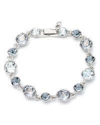 Givenchy | Blue Joplin Silver-Tone Bracelet | Lyst