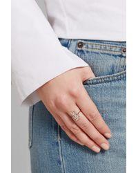 Suzanne Kalan | Multicolor 18-karat Rose Gold Diamond Ring | Lyst