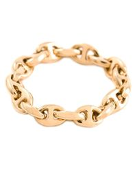Hoorsenbuhs - Metallic Open Link Chain Ring - Lyst