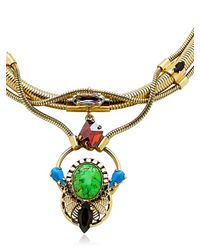 Mw Marek Paris - Green Palomea Necklace - Lyst