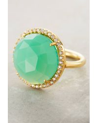 Indulgems | Green Rosaline Ring | Lyst