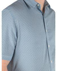 Racing Green | Blue Bridlington Short Sleeve Shirt for Men | Lyst