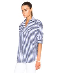 Rag & Bone - Blue Boyfriend Top - Lyst