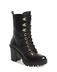 Guess | Black 'Gandy' Boot | Lyst