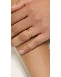 Gorjana - Metallic Nebesa Cuff Ring Gold - Lyst