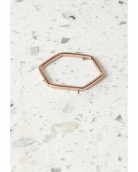 Forever 21 | Pink By Boe Hexagon Band Ring | Lyst
