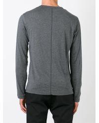 JOSEPH - Gray Long Sleeve T-shirt for Men - Lyst