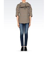 Armani Jeans - Black Print T-shirt - Lyst