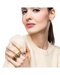 Lulu Frost | Metallic Pharaoh Ring | Lyst