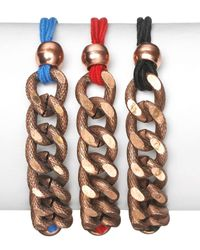 Vanessa Mooney | Multicolor Copper Joey Bracelet (set Of 3) | Lyst