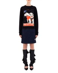 J.W.Anderson | Black Space Dogs Sweat Top | Lyst