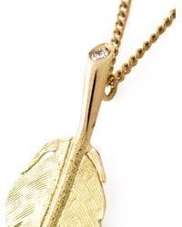 Wouters & Hendrix | Yellow Long 'feather' Necklace | Lyst