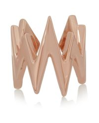 Jennifer Fisher - Pink Pulse Rose Gold-Plated Ring - Lyst