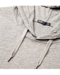 Onassis Clothing   Gray Pullover Hoodie for Men   Lyst