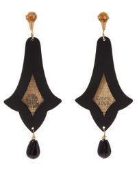 Anna E Alex | Red Citta D'arte Earrings | Lyst