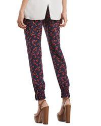 Gucci - Multicolor Heartbeat Print Silk Jogging Pants - Lyst