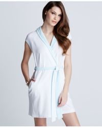 Betsey Johnson | White Wifey Terry Robe | Lyst