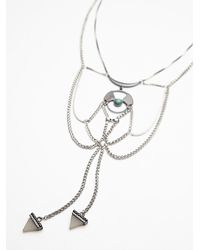 Free People | Metallic Womens New Age Collar | Lyst